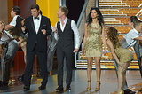 Neil Patrick Harris was joined by Nathan Fillion and Sarah Silverman for one of his Emmys performances.