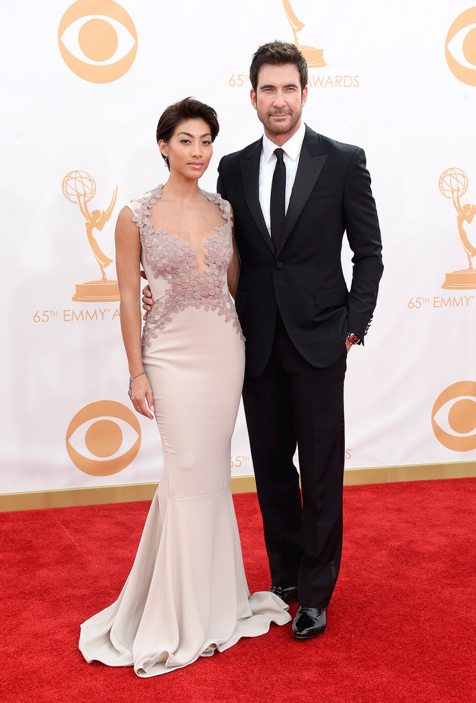 A dapper Dylan McDermott and Shasi Wells attended the 2013 Emmys.