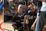 Director Joseph Gordon-Levitt on the set of Don Jon. Source: Relativity Media