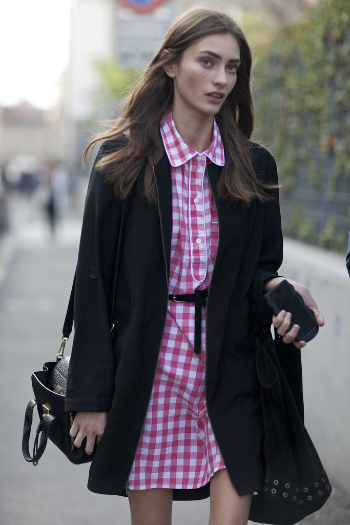 Punchy pink gingham isn't just for Spring anymore!