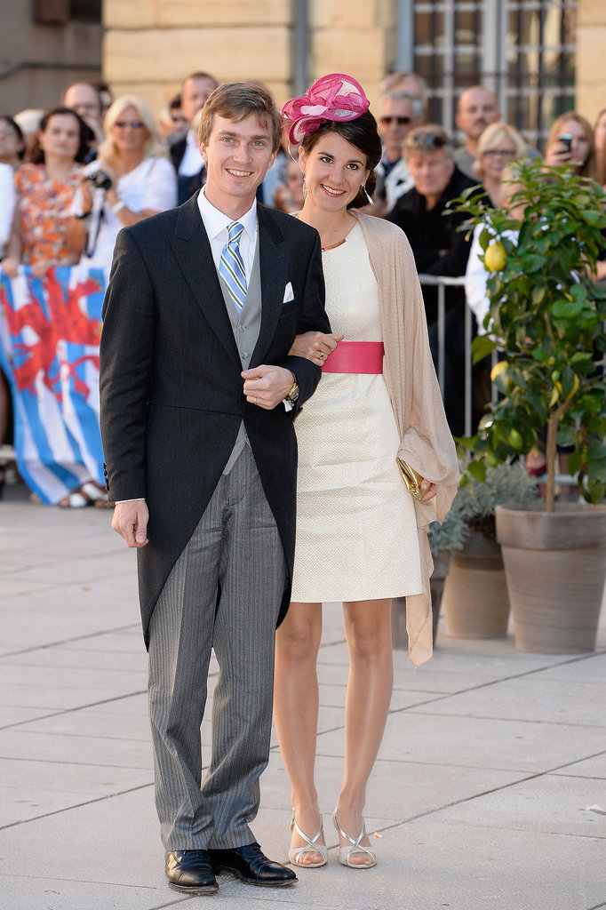 Archduke Christoph and Archduchess Adelaide of Austria attended the wedding.