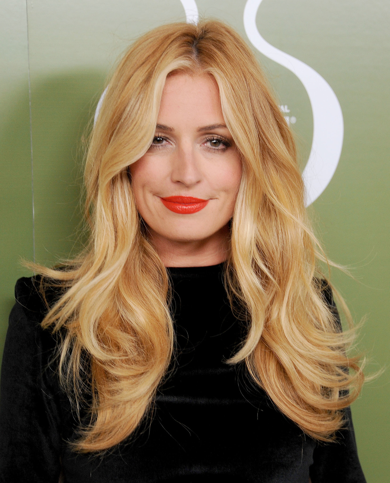 Cat Deeley was party-hopping all weekend, and for the Variety pre-Emmy party she wore a bright tangerine lipstick to s