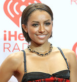 Kat Graham accentuated her cute bob with perfectly groomed eyebrows and neutral-toned makeup.