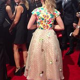 Flawless from every angle? Kiernan Shipka certainly was tonight!  Source: Instagram user primetimeemmys