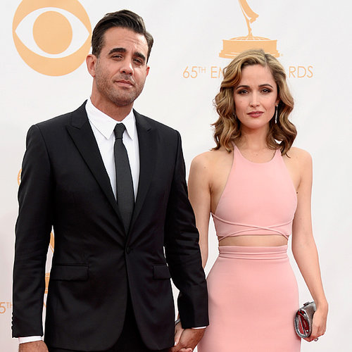 Rose Byrne and Bobby Cannavale at 2013 Emmy Awards