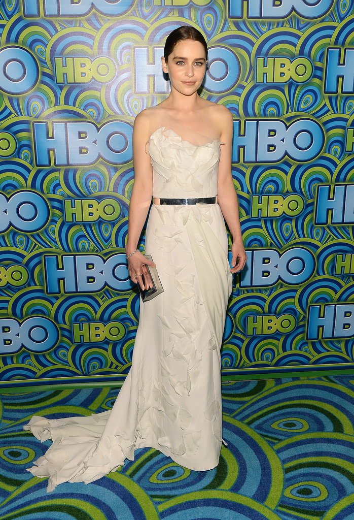 Emilia Clarke attended the 2013 HBO Emmys afterparty.