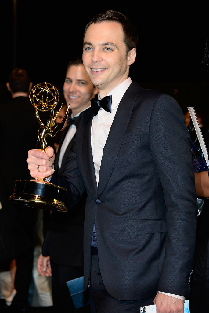 Jim Parsons attended the 2013 Emmys Governors Ball.