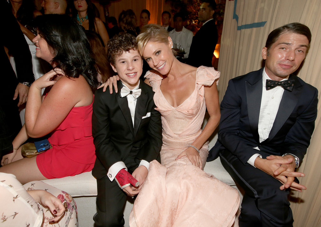 Julie Bowen joined up with Nolan Gould at the Fox after party.