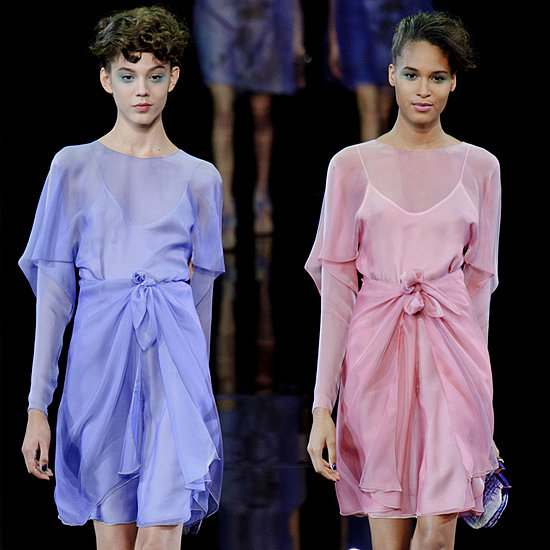 Giorgio Armani Spring 2014: Two-by-Two Drama
