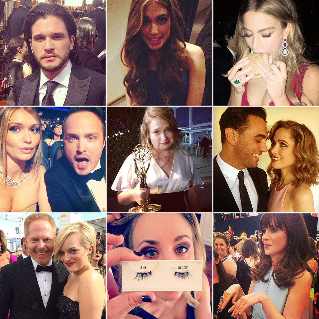See the Cutest Celebrity Candids From the Emmy Awards!