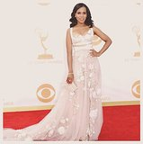 Kerry Washington didn't only put on a show on the Emmys red carpet in Marchesa, she took the display to Instagram for a stylish video post. Source: Instagram user kerrywashington