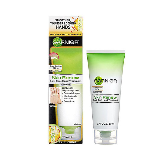 The product: Garnier Skin Renew Dark Spot Hand Treatment ($8) Why we're packing it: This became an office favorite this Summer thanks to its fresh smell, but the multiuse qualities (SPF 30, dark spot removal, moisturizing) make it idea for travel. Plus, it's under the three-ounce limit!