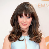 Pictures of Zooey Deschanel at the 2013 Emmy Awards
