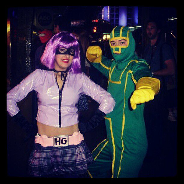 Hit-Girl and Kick-Ass