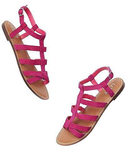 Geri Suede Gladiator Sandals
