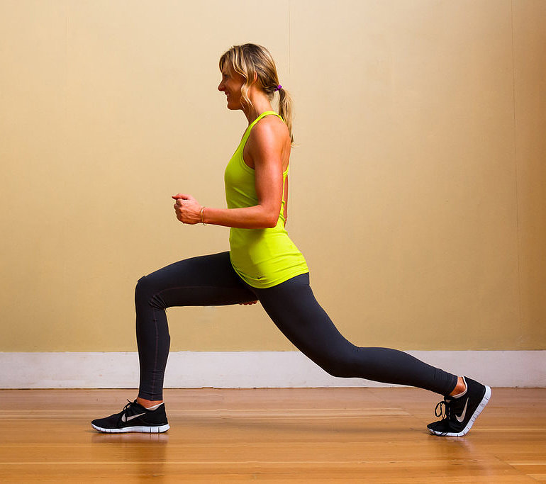 Lower Body: Lunge
