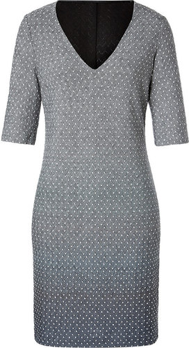 Missoni Wool Blend V-Neck Dress