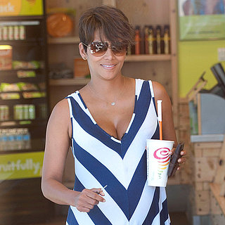 Pregnant Halle Berry at Jamba Juice | Pictures