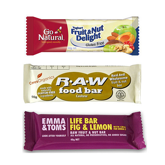 calories in health food bars calories in muesli bars
