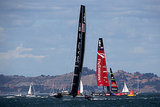 Oracle Team USA beat Emirates Team New Zealand in the America's Cup finals in San Francisco.