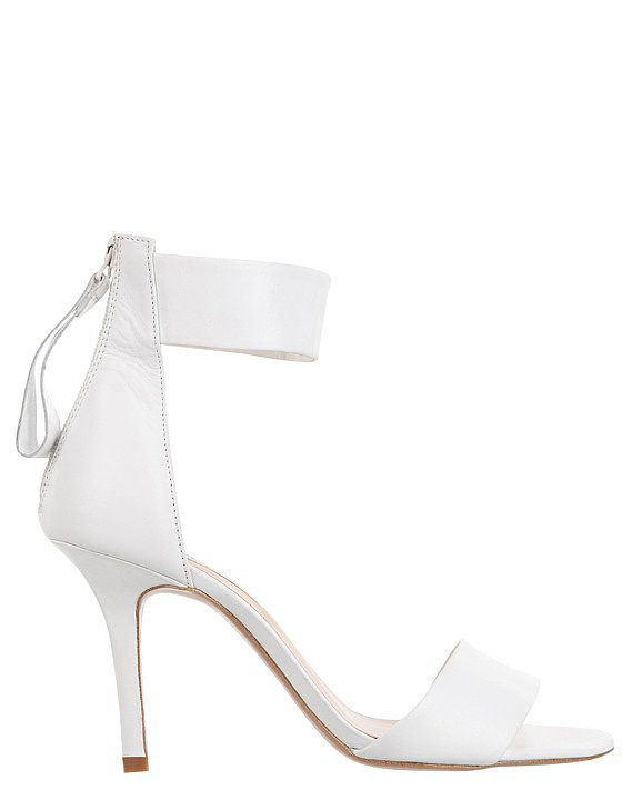 I'm loving the white on white trend and these shoes will be worn well past race day and into the Summer. — Laura, Shopstyle Australia country manger Shoes, $149.95, Tony Bianco at The Iconic