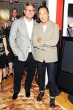 At Elle Decor's fashion issue reveal, Jan Hendrik-Schlottmann and Derek Lam made a dapper duo.
