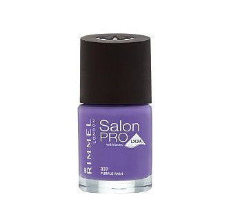 Rimmel Salon Pro nail polishes are such great value for money and come in great fashion shades. Purple Rain (£4) is a bright, fun midpurple that will quickly become a favourite.