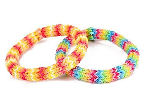 Rainbow Loom Hexafish Six-Pin Fishtail Bracelet