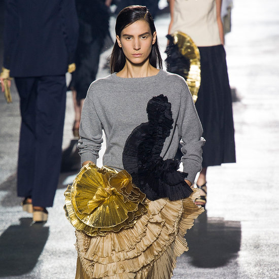 Dries Van Noten Spring 2014: Gold Rush
