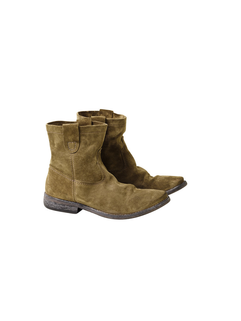 Suede Boots ($99) Photo courtesy of H&M