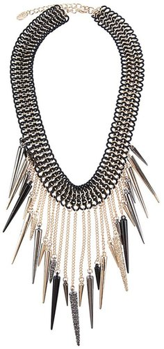 Luxury Fashion CHUNKY SPIKED NECKLACE