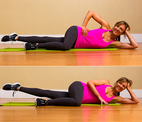 Lower Body: Pilates Side-Lying Leg Lifts