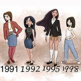 Disney Princess by Years