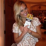 Bar Refaeli attended the big Mayweather-Canelo fight in Las Vegas. Source: Instagram user barrefaeli