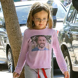 Ben Affleck's Kids Wear Love For Him on Their T-Shirts