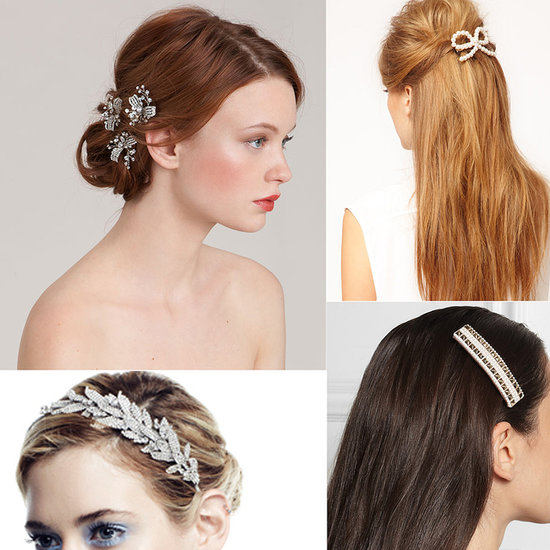 Weddings: 20 (Tiara-Free!) Bridal Hair Accessories