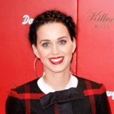 Katy Perry Milkmaid Braid Launch of Killer Queen Fragrance