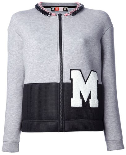 Msgm varsity-style jacket