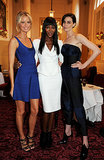 Naomi Campbell joined Caroline Winberg and Erin O'Connor in London for The Face's launch event.