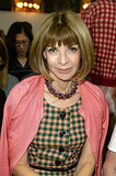 Anna Wintour at Balmain Spring 2014.