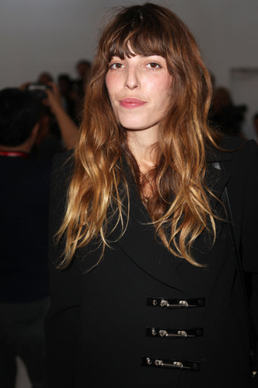 Lou Doillon at Anthony Vaccarello Spring 2014.