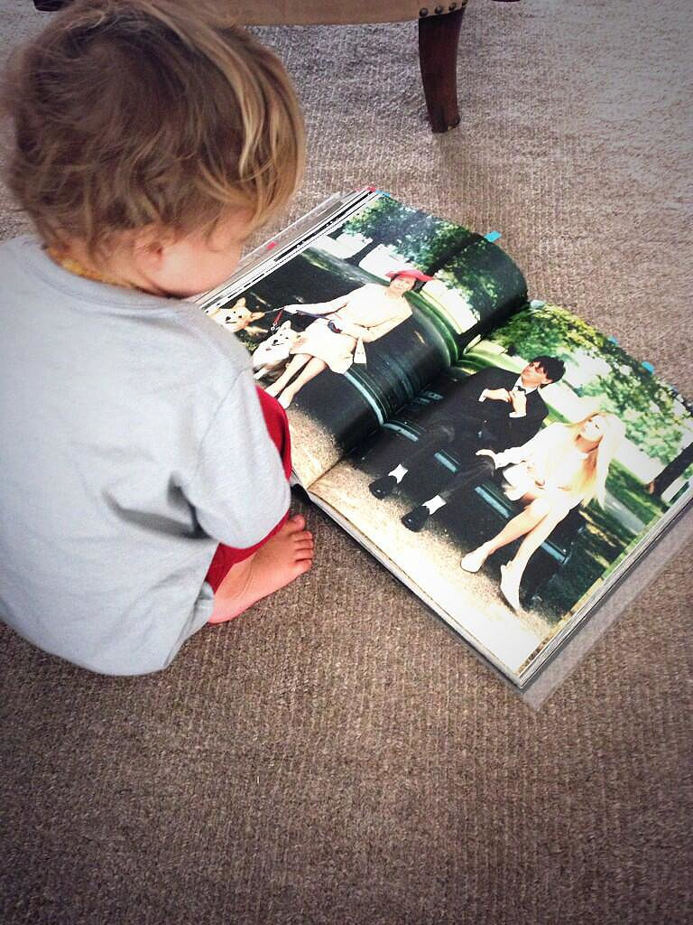 Arthur Bleick took in his mama's fashion magazines. Source: Twitter user SelmaBlair