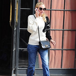Diane Kruger Wearing an Animal Sweater | Video