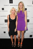 Gwyneth Paltrow joined her famously close friend and fitness guru Tracy Anderson to celebrate the opening of their first flagship studio in LA in April 2013.