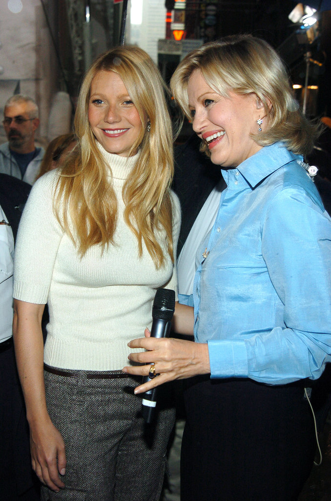 Gwyneth Paltrow met up with Diane Sawyer for an appearance on Good Morning America in NYC back in September 2004.