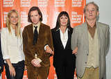 Gwyneth Paltrow reunited with her Royal Tenenbaums costars Anjelica Huston and Bill Murray and the film's director, Wes Anderson, at the 10th anniversary screening in NYC in October 2011.