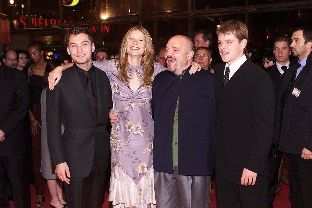 Gwyneth Paltrow walked the red carpet with Jude Law, Matt Damon, and late director Anthony Minghella for the Berlin Film Festival premiere of The Talented Mr. Ripley in February 2000.