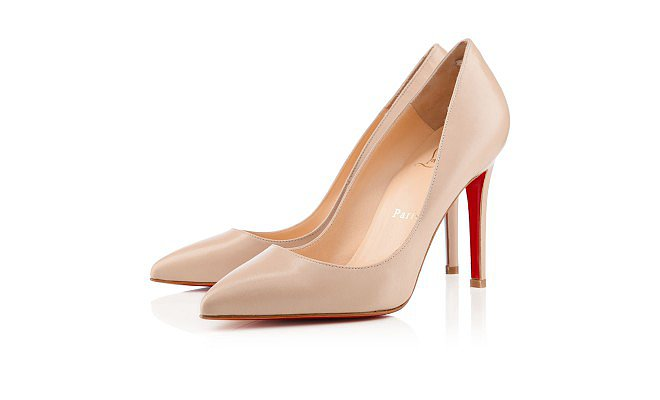 Nothing lengthens the leg like a classic nude pump and nothing shortens my patience like an off-color tone. With five different hues to chose from, Christian Louboutin's nude Pigalle pump ($625) will always be a perfect match. — RM