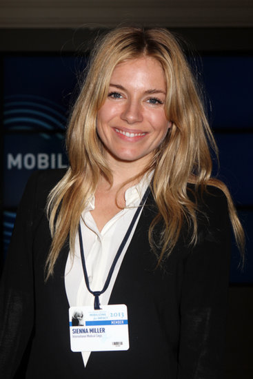 Sienna Miller Lends Star Power to the Clinton Global Initiative