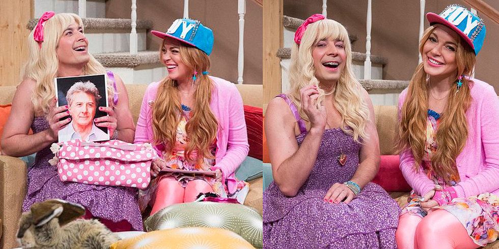 Scrumping Is the New Twerking, Say Jimmy Fallon and Surprise Guest Lindsay Lohan